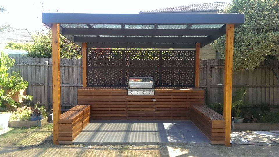 porch-screened-fireplace-mantel-decor-14-wyl Screened Outdoor Kitchen